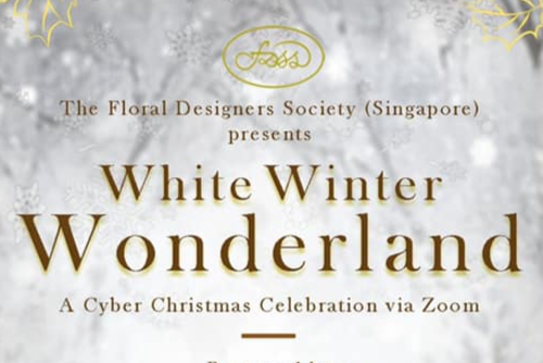 """White Winter Wonderland"" Cyber Party 2020"