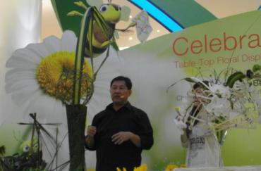 Singapore Garden Festival Floral Demonstrations